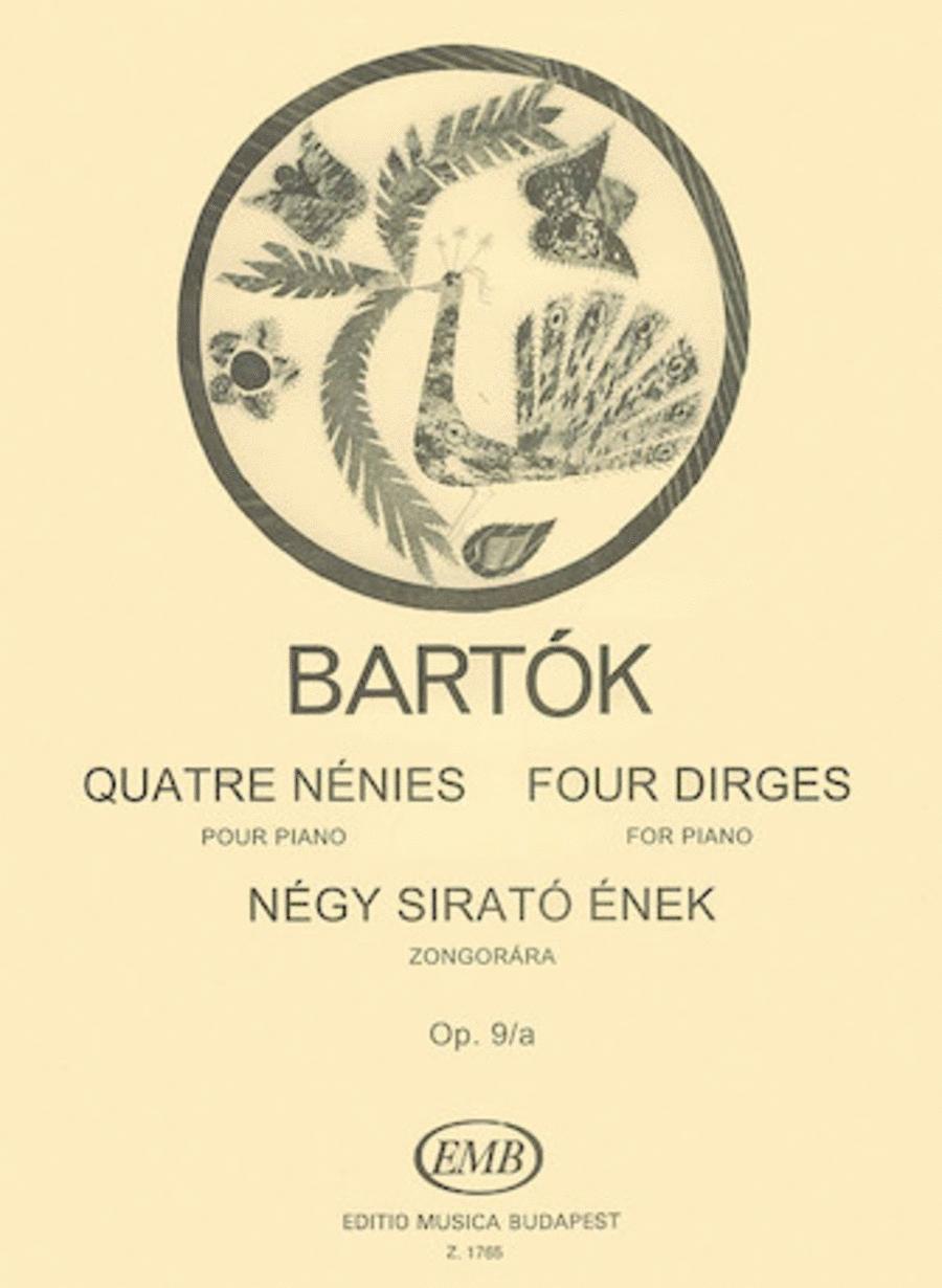 Four Dirges Op. 9a