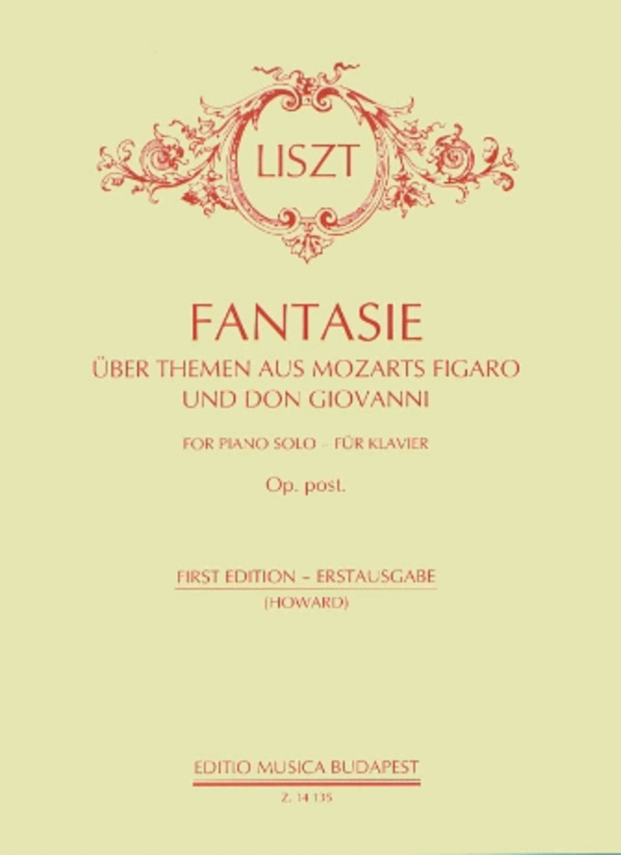 Fantasy on Themes from Figero and Don Giovanni by Mozart