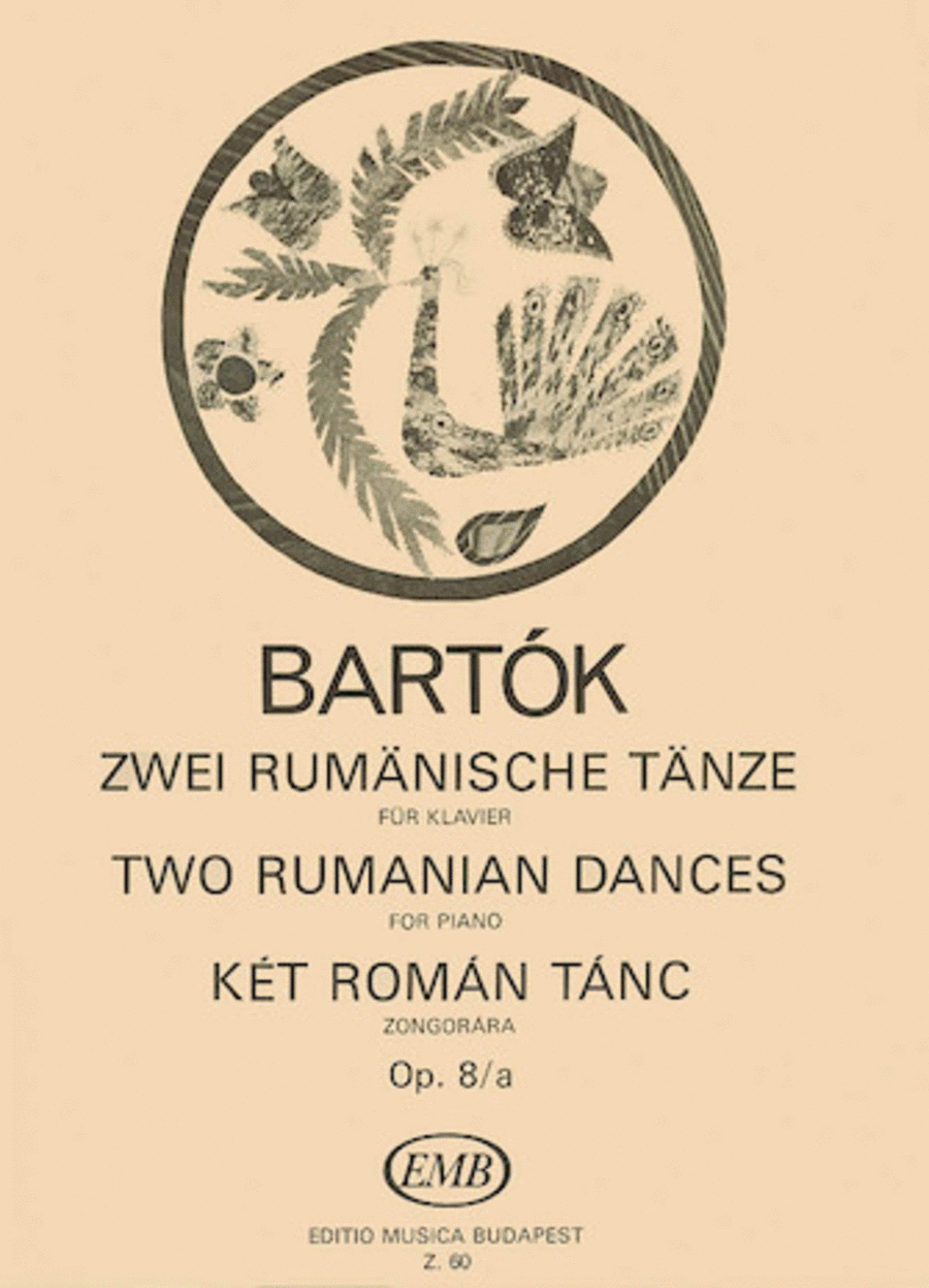 2 Rumanian Dances, Op. 8a