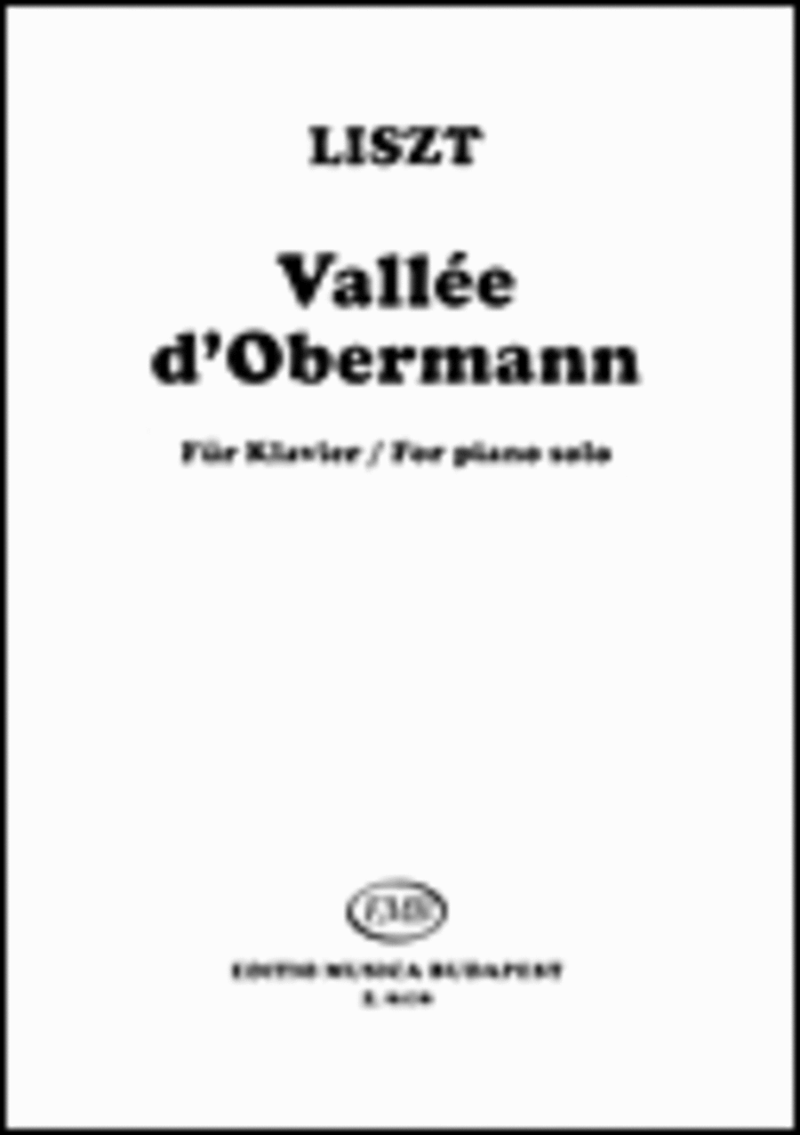 Vallee D'obermann from Annees de pelerinage