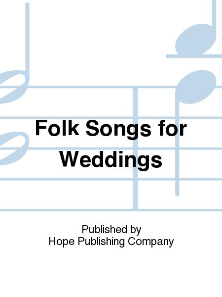 Folk Songs For Weddings