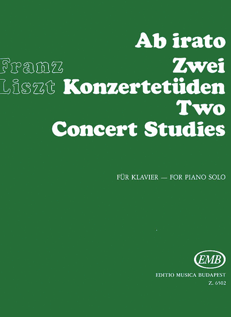 Ab Irato: Two Concert Studies