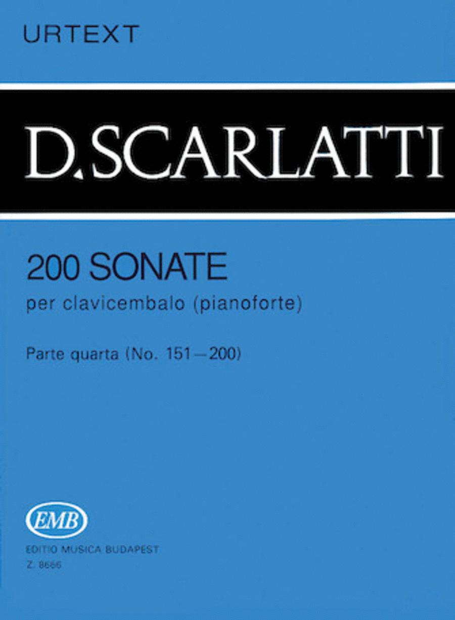 200 Sonatas - Volume 4