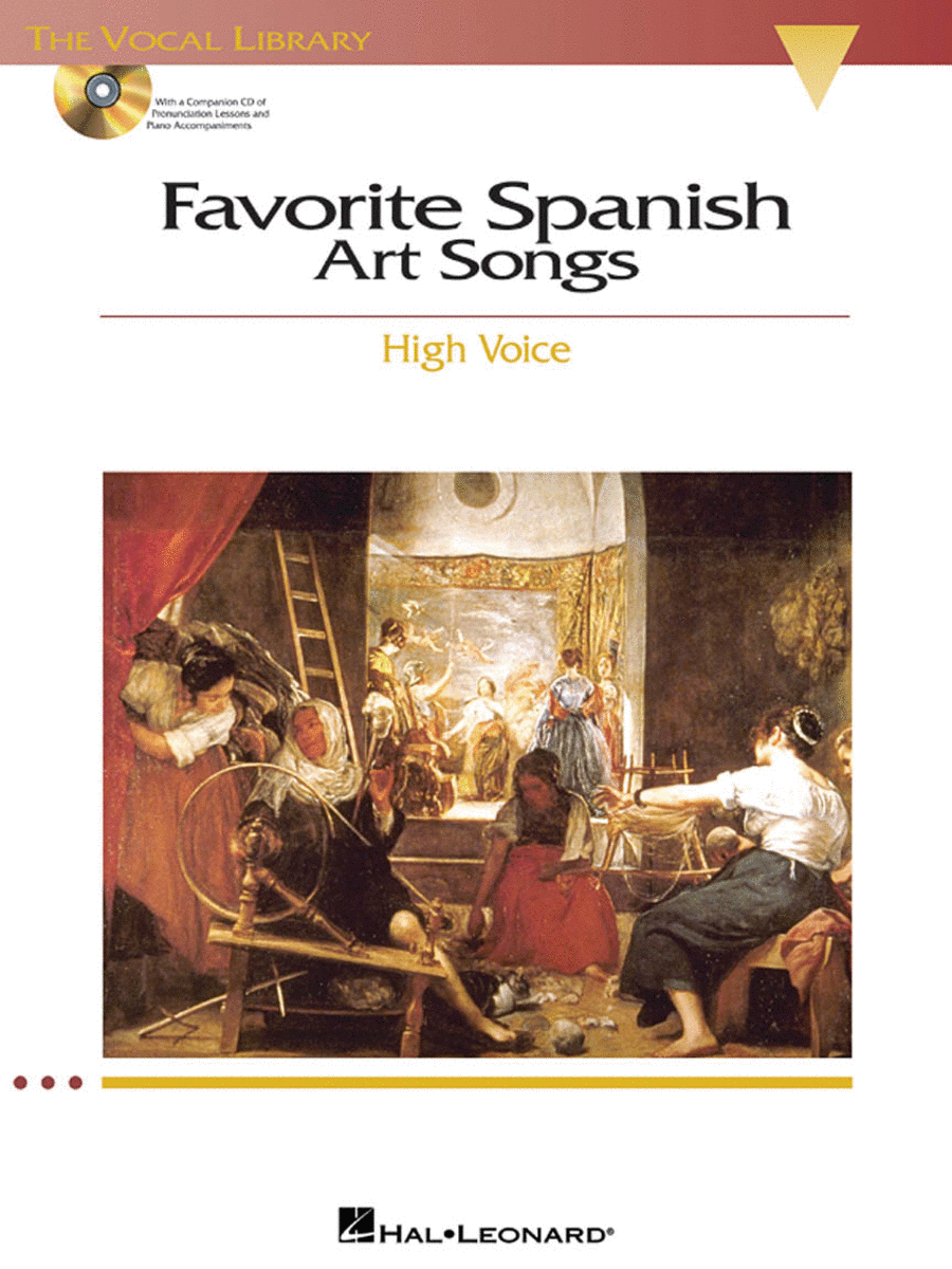 Favorite Spanish Art Songs