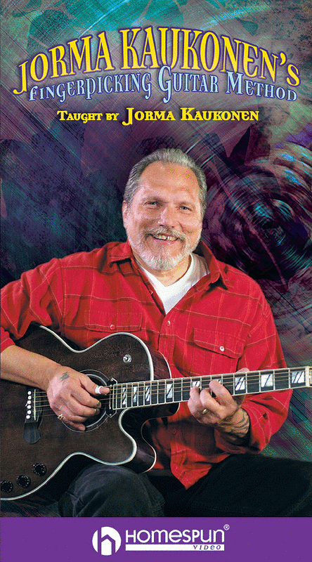 Jorma Kaukonen's Fingerpicking Guitar Method - 2-Video Set