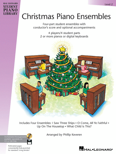 Christmas Piano Ensembles - Level 2 Book