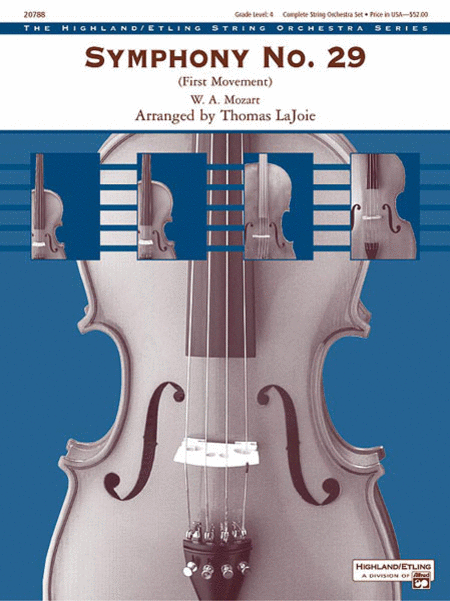 Symphony No. 29 (1st Movement)