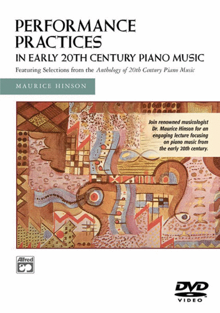Performance Practices in Early 20th Century Piano Music
