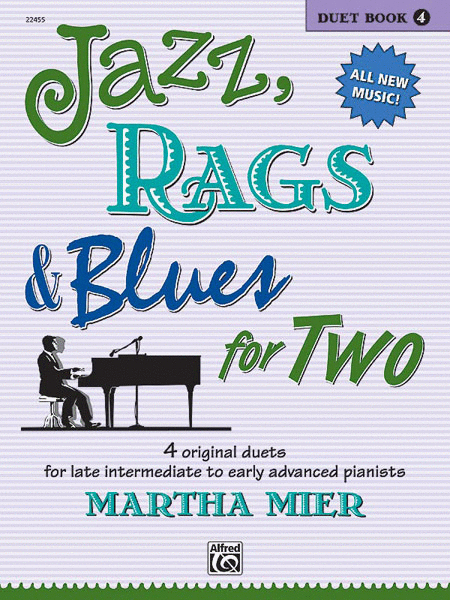 Jazz, Rags & Blues for Two - Book 4