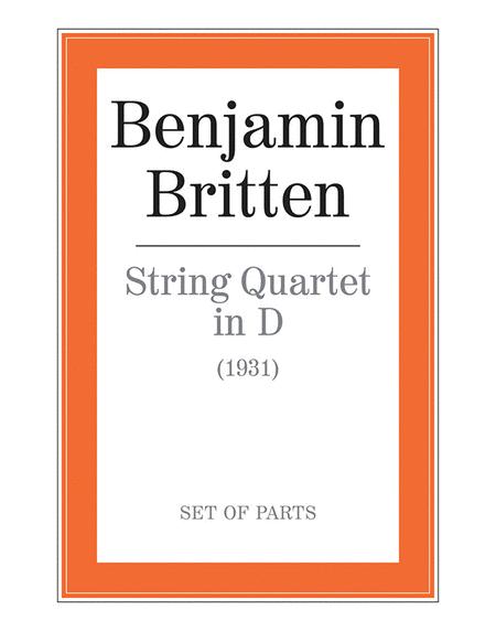 String Quartet in D
