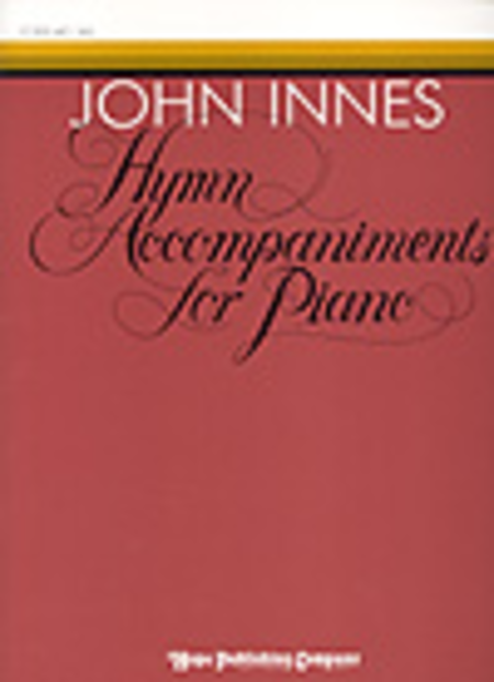 Hymn Accompaniments For Piano
