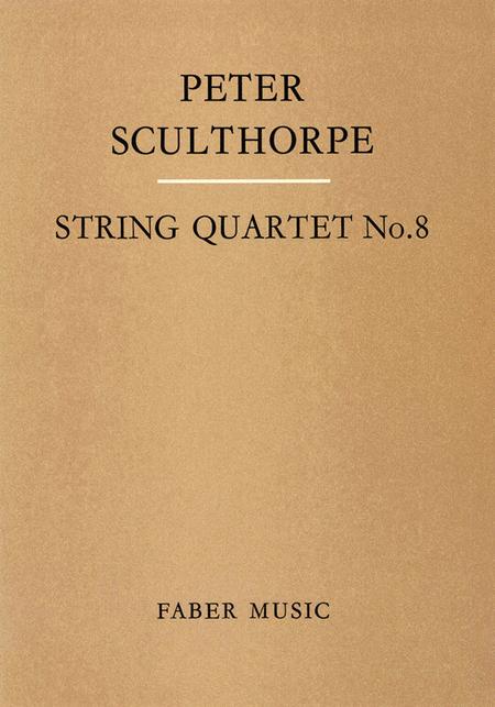 String Quartet No. 8 - Score