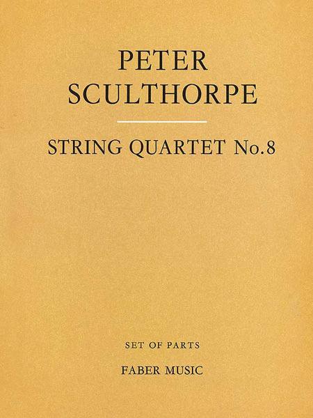 String Quartet No. 8 - Parts