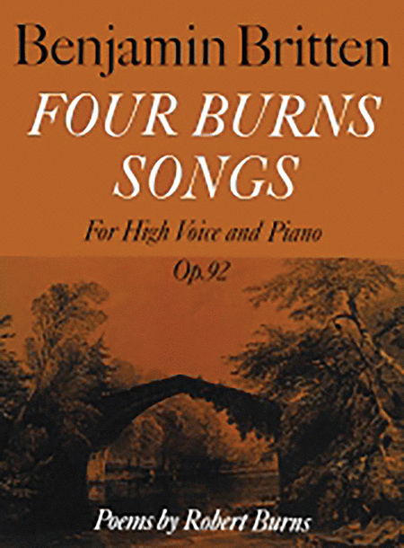 Four Burns Songs Op. 92