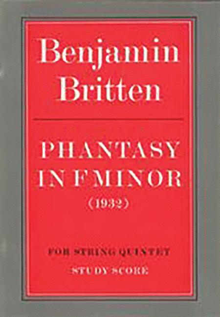 Phantasy in F Minor