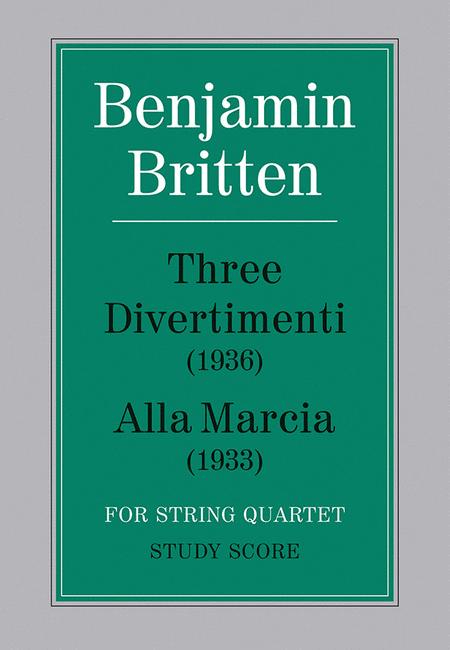 Three Divertimenti (1936) and Alla Marcia (1933)