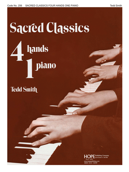 Sacred Classics for Four Hands