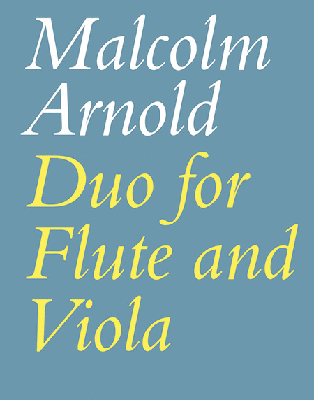 Duo for Flute and Viola, Op. 10