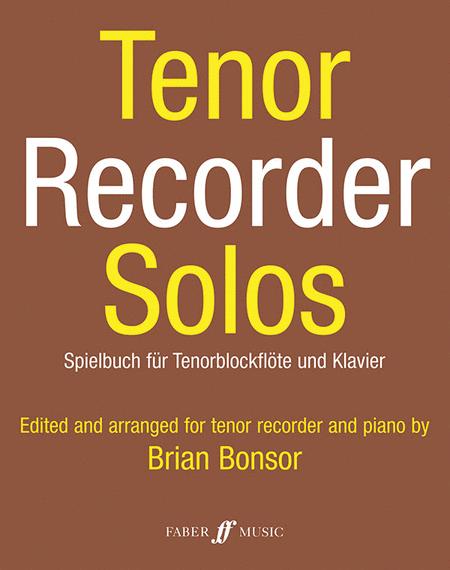 Tenor Recorder Solos
