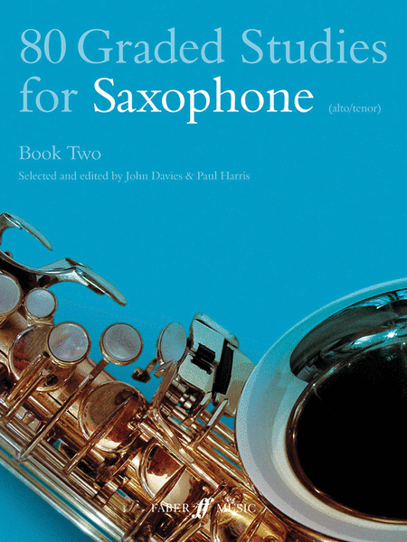 80 Graded Studies for Saxophone, Book 2