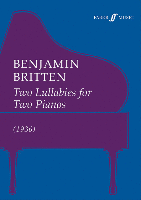 Two Lullabys for Two Pianos