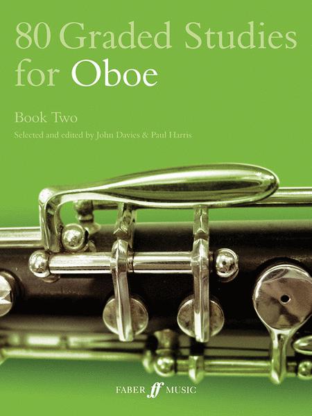 80 Graded Studies for Oboe, Book 2