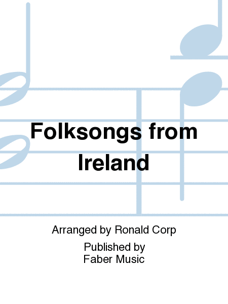 Folksongs from Ireland