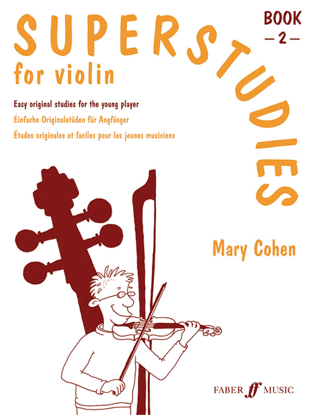 Superstudies for Violin, Book 2