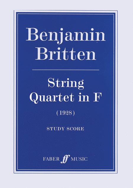 String Quartet in F