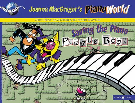 PianoWorld -- Saving the Piano Puzzle Book, Book 1