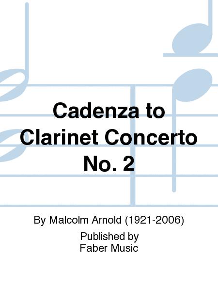 Cadenza to Clarinet Concerto No. 2