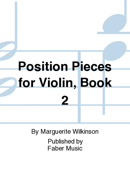 Position Pieces for Violin, Book 2