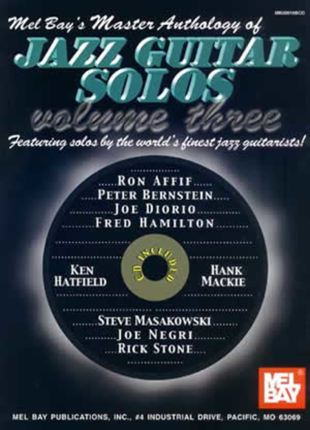Master Anthology of Jazz Guitar Solos Volume 3