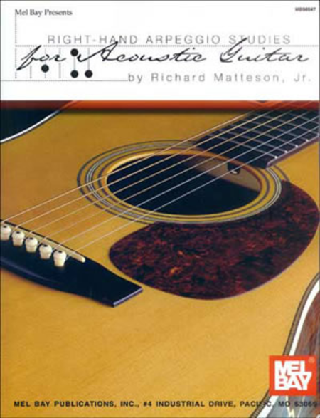 Right-Hand Arpeggio Studies for Acoustic Guitar