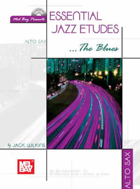 Essential Jazz Etudes...The Blues - Alto Sax