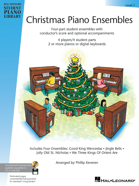 Christmas Piano Ensembles - Level 1 Book