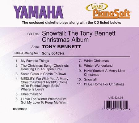 Snowfall: The Tony Bennett Christmas Album - Piano Software