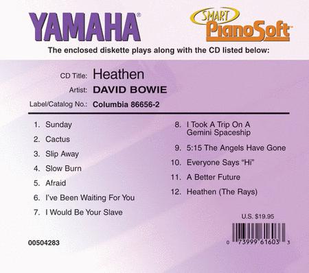David Bowie - Heathen - Piano Software