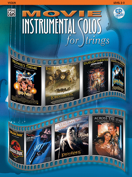 Movie Instrumental Solos for Strings - Violin (Book and CD)