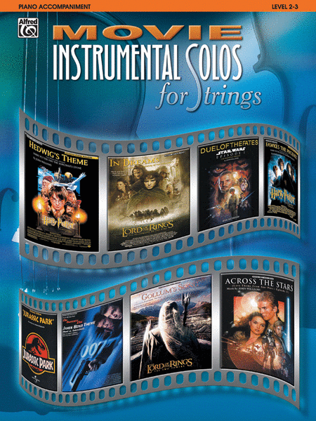 Movie Instrumental Solos for Strings - Piano Accompaniment (Book Only)