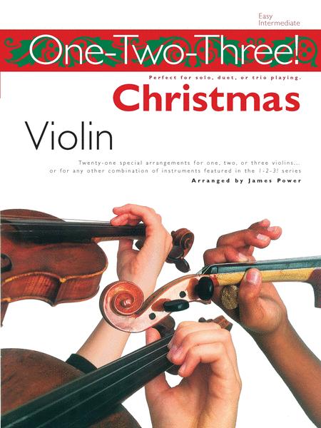 One-Two-Three! Christmas - Violin
