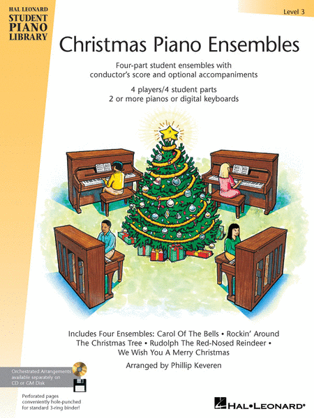 Christmas Piano Ensembles - Level 3 Book