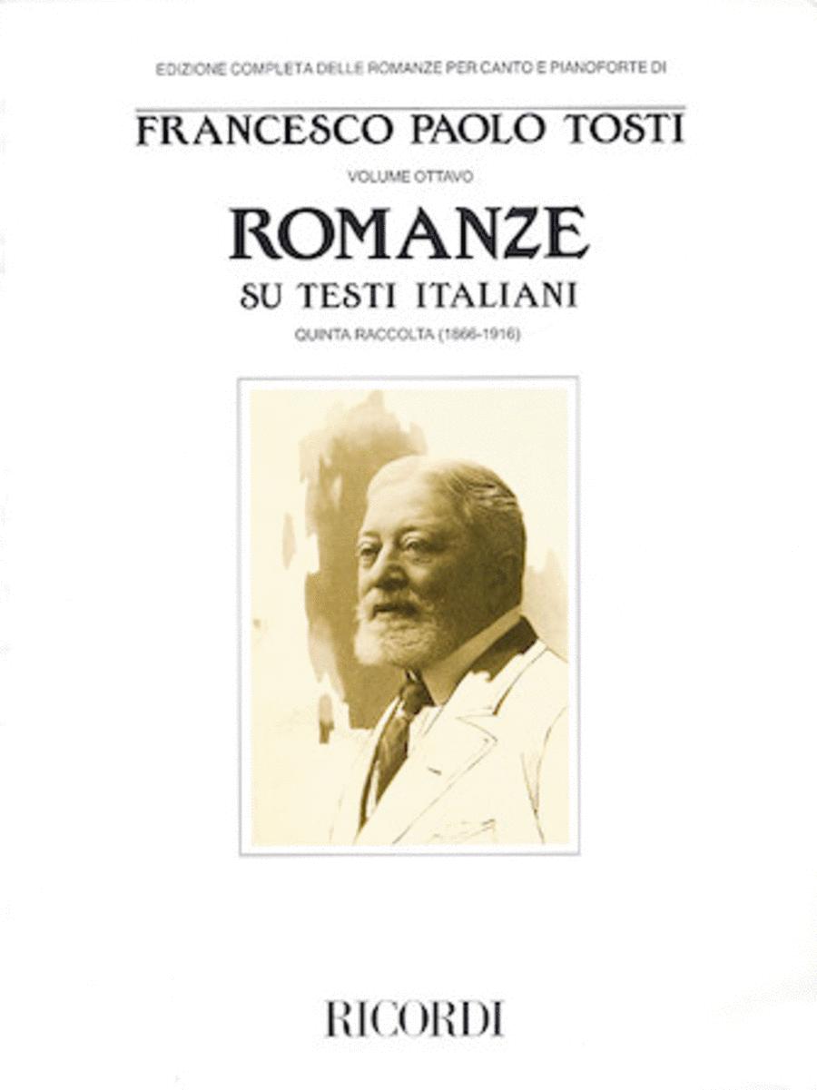 Francesco Paola Tosti - Romanze, Volume 8