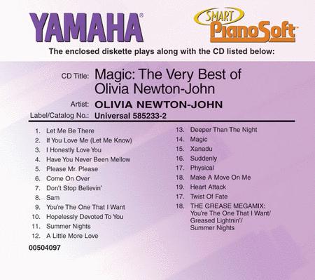 Magic: The Very Best of Olivia Newton-John - Piano Software