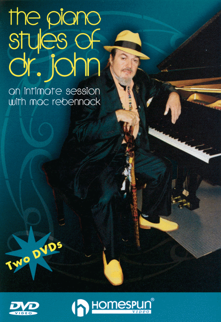 The Piano Styles of Dr. John - 2-DVD Set