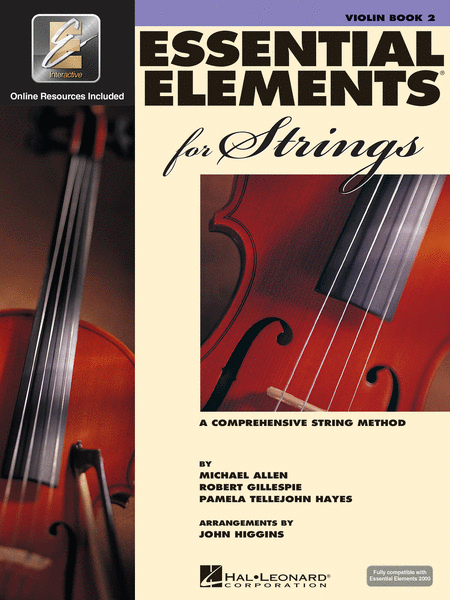 Essential Elements for Strings - Book 2 with EEi (Violin)