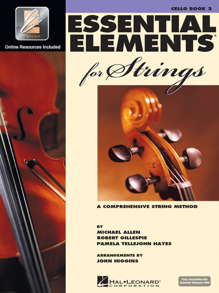 Essential Elements 2000 for Strings - Book 2 (Cello)