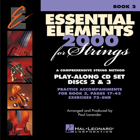 Essential Elements 2000 for Strings - Book 2 (CD only) - Play Along Trax
