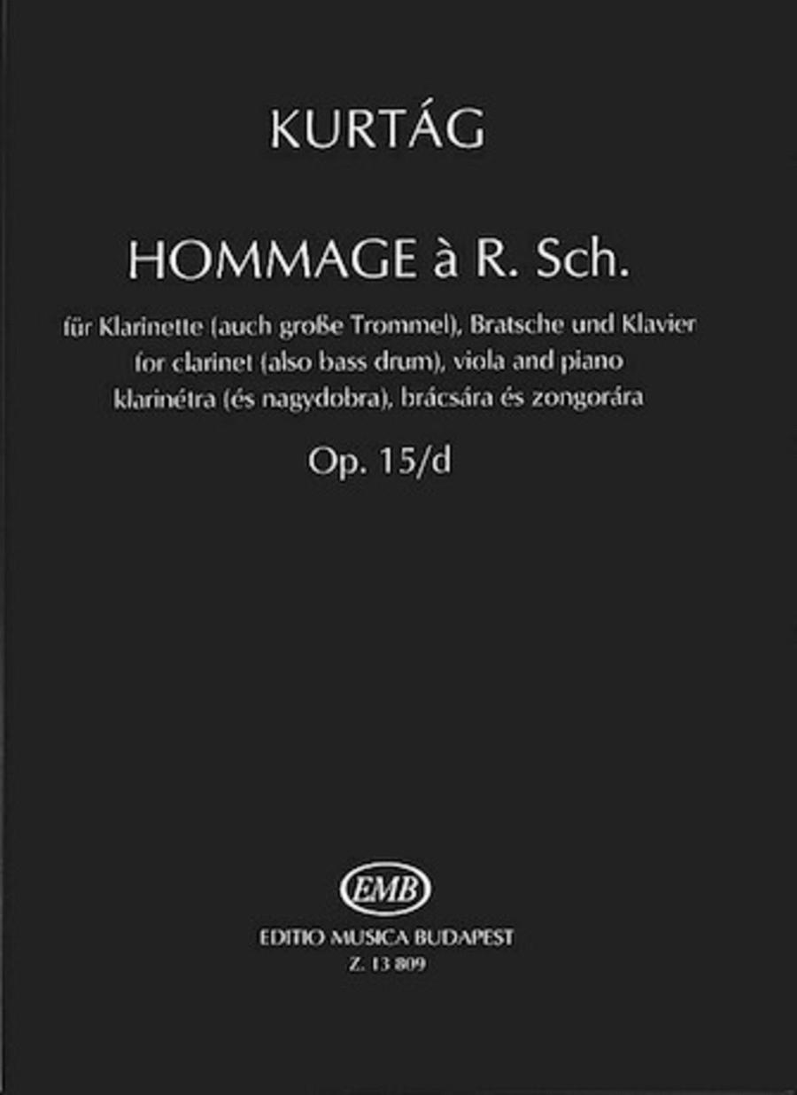 Hommage à R. Sch., Op. 15d