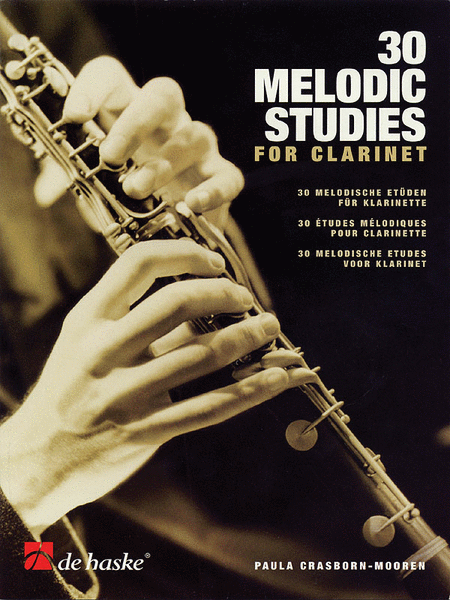 30 Melodic Studies for Clarinet